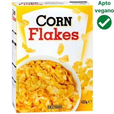 Corn Flakes Mercadona vegano