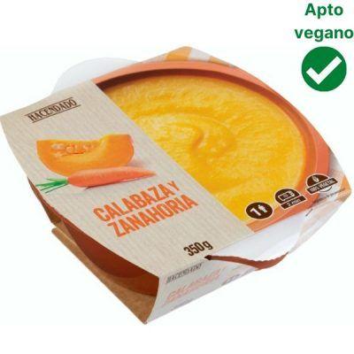 Crema de calabaza Mercadona vegana