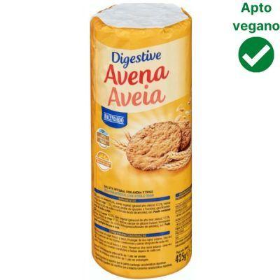 Galletas Digestive Avena Mercadona veganas