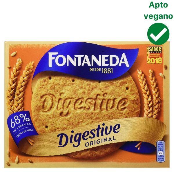 Galletas Fontaneda veganas
