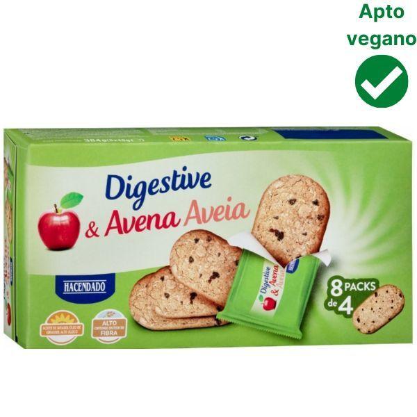 Galletas Digestive veganas Mercadona