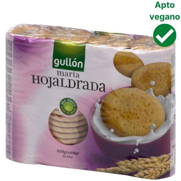 Galletas Maria veganas