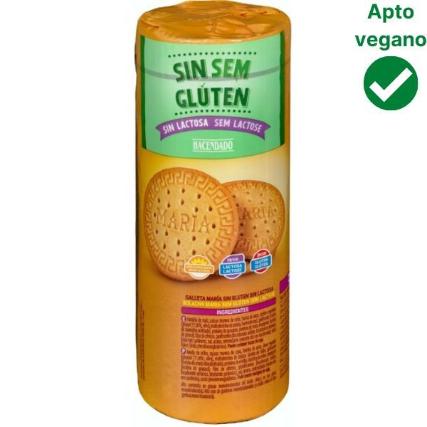 Galletas Maria sin gluten veganas Mercadona