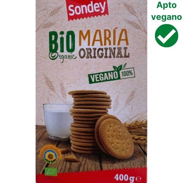 Galletas Maria veganas Lidl Sondey