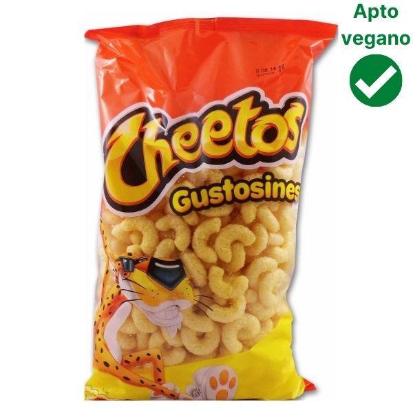 Gustosines Cheetos veganos