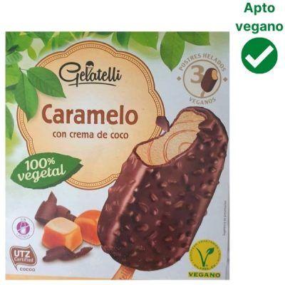Helado de caramelo vegano Lidl