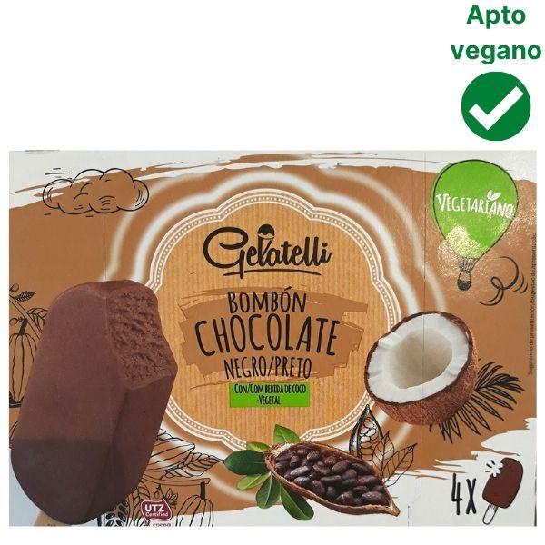 Helado de chocolate vegano Lidl