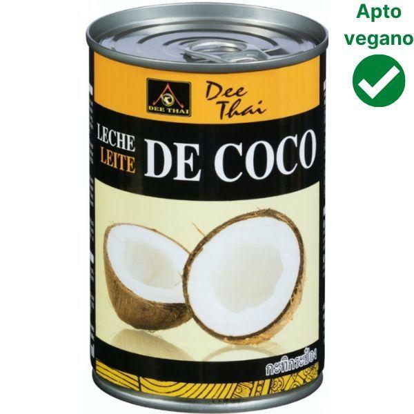 Leche de coco Mercadona vegana