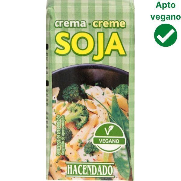 Nata vegana Mercadona