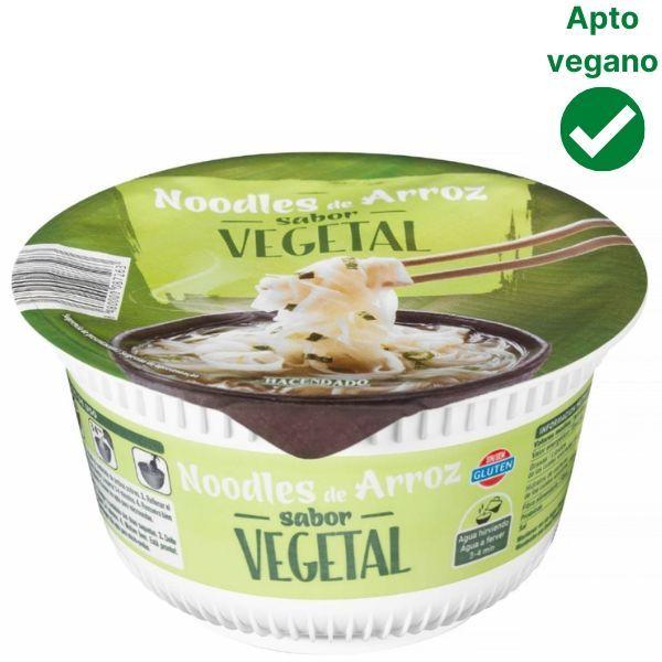 Noodles vegetales Mercadona veganos