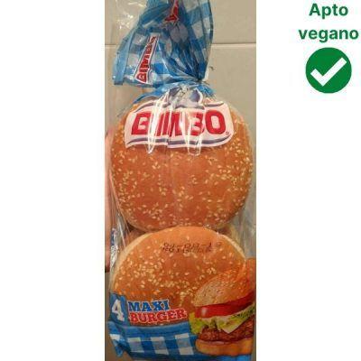 Pan hamburguesa vegano Bimbo
