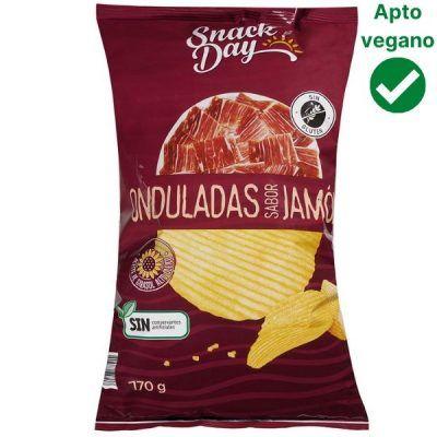 Patatas sabor jamón veganas Lidl
