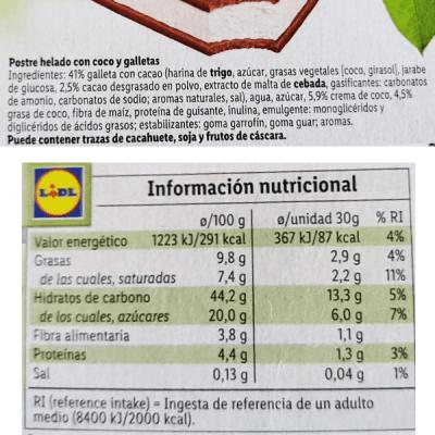 Sándwich vegano Lidl (Gelatelli)