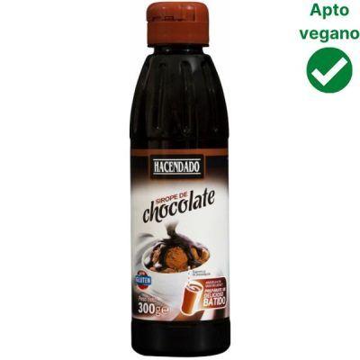 Sirope de chocolate vegano Mercadona Hacendado