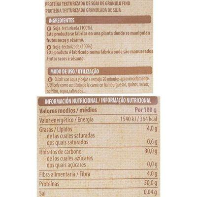 Soja texturizada Mercadona (Hacendado)