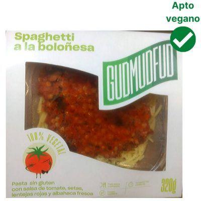 Spaghetti boloñesa vegano Lidl