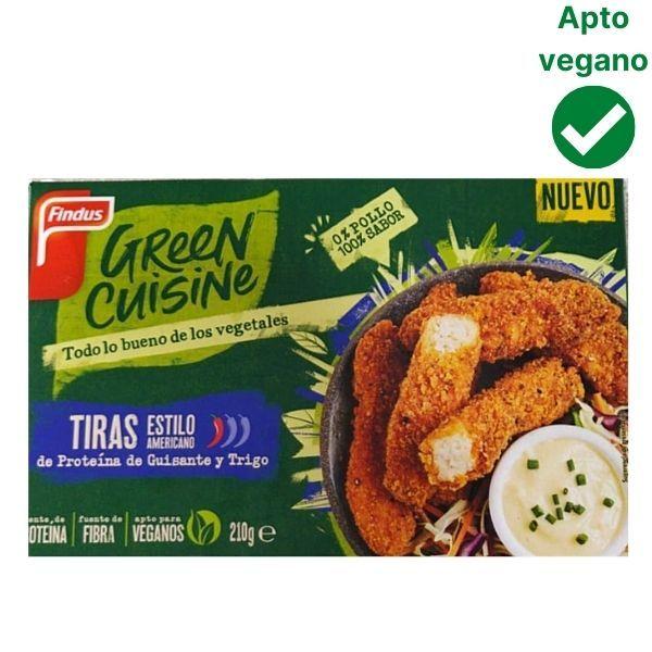 Tiras de pollo vegano Green Cuisine Findus