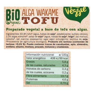 Tofu alga wakame My Best Veggie (Lidl)