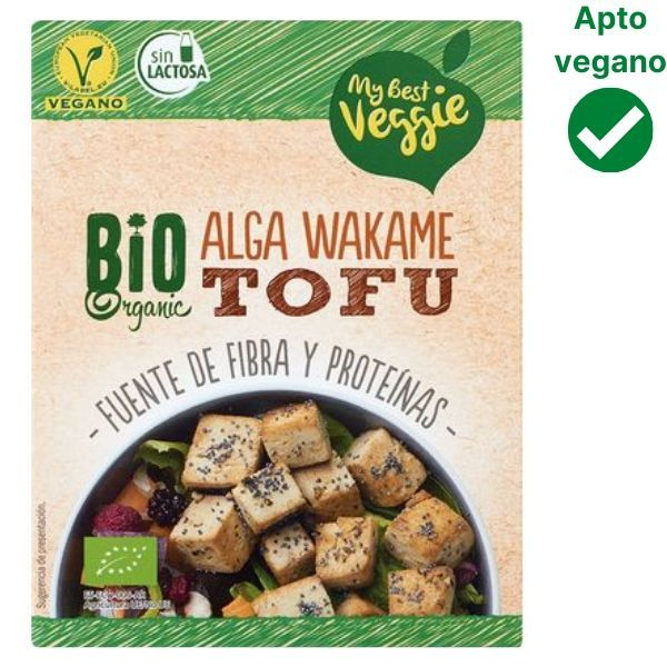 Tofu con alga wakame Lidl