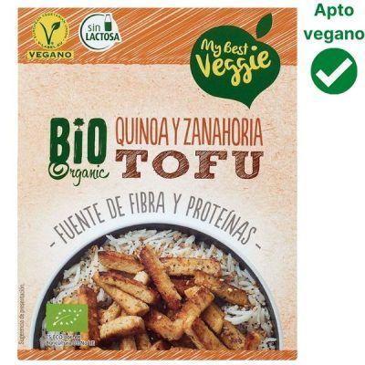 Tofu quinoa y zanahoria Lidl
