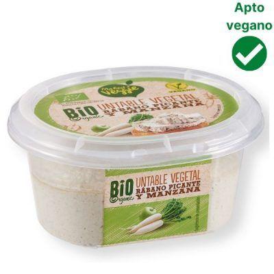 Paté vegetal rábano y manzana Lidl
