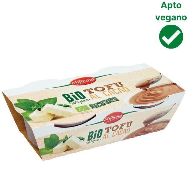 Yogur de tofu y chocolate Lidl vegano