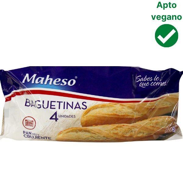 Pan congelado sin lactosa Maheso