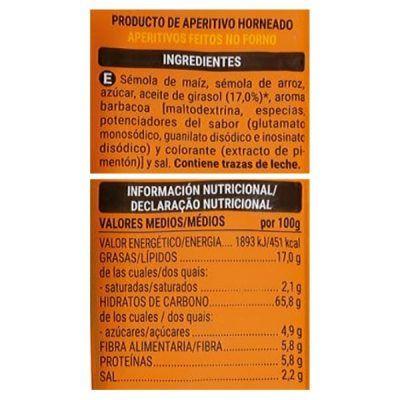 Bolitas sabor barbacoa Mercadona (Hacendado)