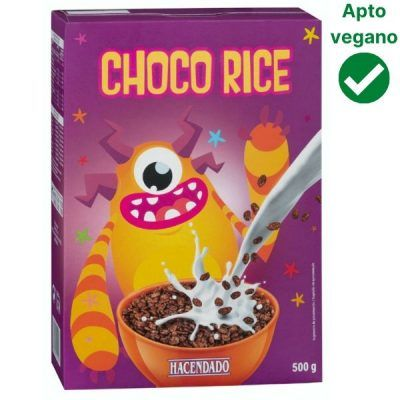 Cereales Choco Rice Mercadona (Hacendado)