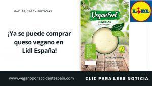 ¡Ya se puede comprar queso vegano en Lidl!