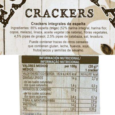 Crackers de espelta Mercadona
