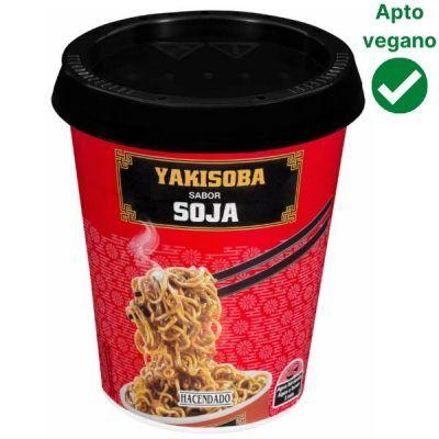 Fideos Yakisoba sabor soja Mercadona (Hacendado)