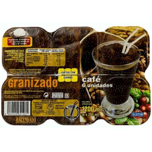 Granizado de café Hacendado
