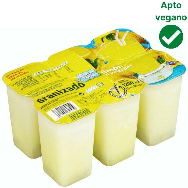 Granizado de limón Mercadona