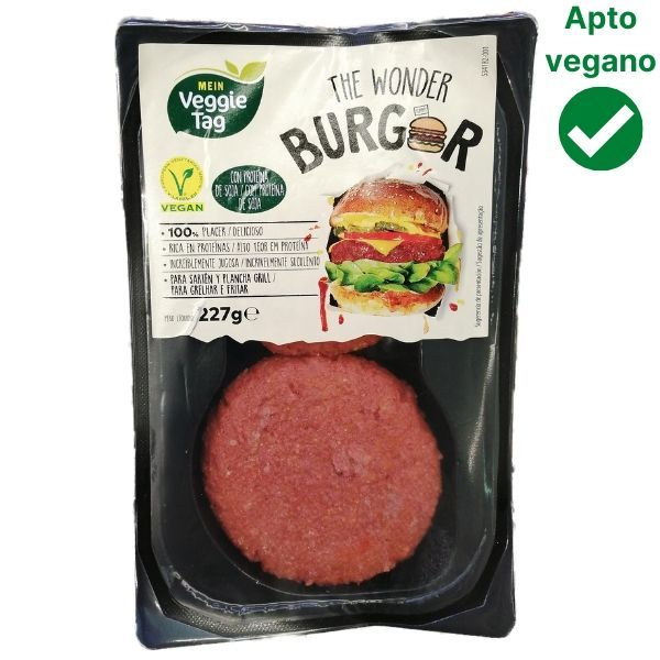 Hamburguesa Wonder Burger Aldi