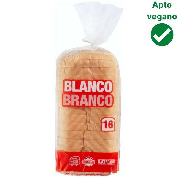 Pan de molde con corteza Mercadona vegano