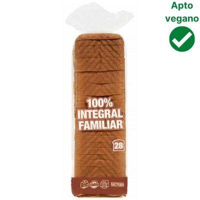 Pan de molde integral familiar Mercadona