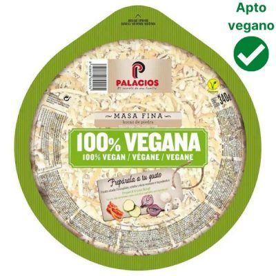 Pizza vegana Alcampo