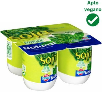 Yogur de soja sin azúcar Mercadona