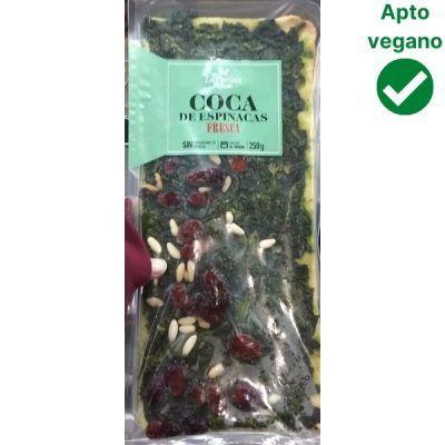 Coca de espinacas Aldi