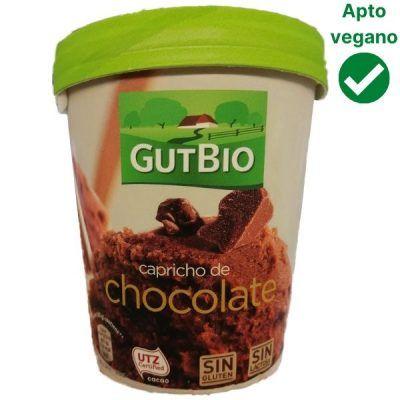 Helado de chocolate vegano Aldi (Gutbio)