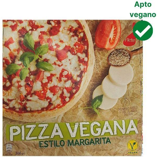 Pizza vegana Aldi