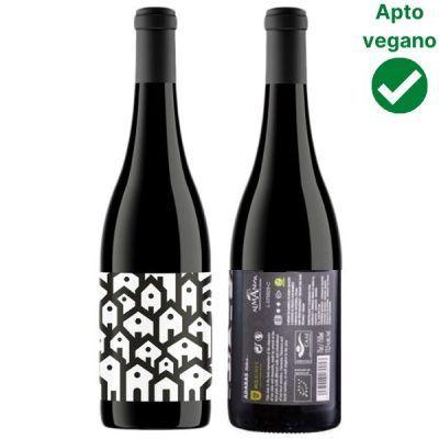 Vino tinto Adaras aldea vegano (Lidl)