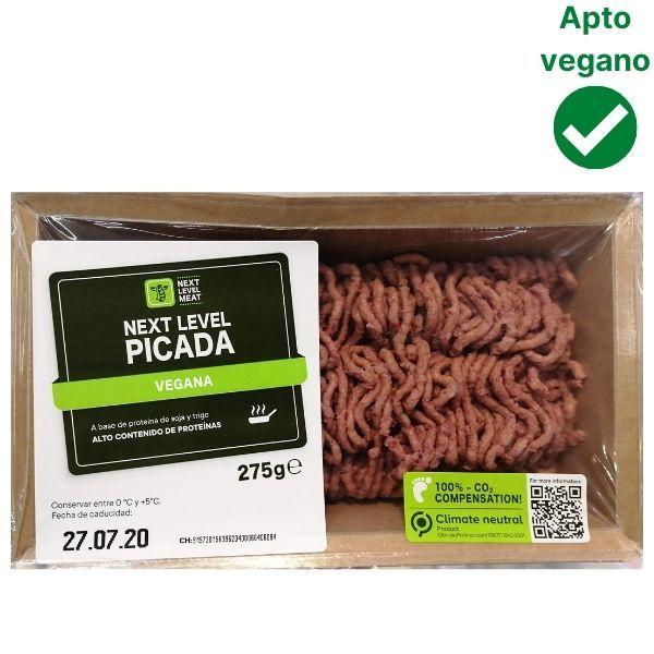 Carne picada vegana Lidl