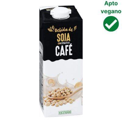 Leche de soja y café Mercadona