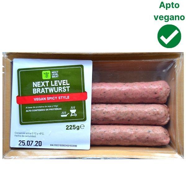 Salchichas veganas Lidl Next Level
