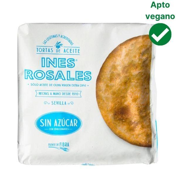 Tortas de aceite sin azucar Ines Rosales veganas