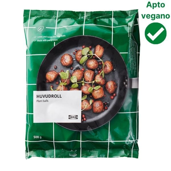 Nuevas albondigas veganas Ikea