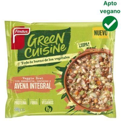 Avena integral con zanahoria y lentejas Green Cuisine Findus
