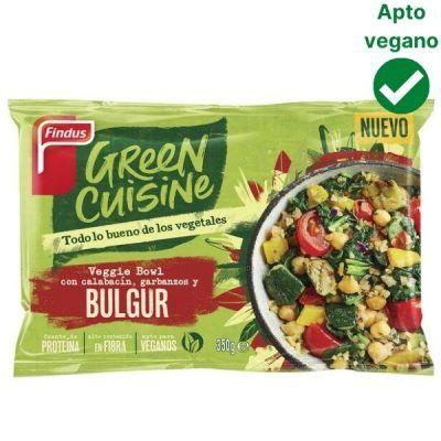 Bulgur con calabacin y garbanzos Green Cuisine Findus